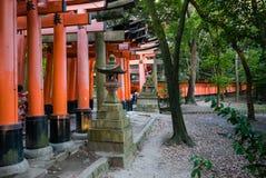 Fushimi Inari Taisha świątynia Obrazy Royalty Free