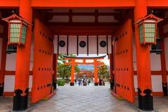Fushimi Inari Taisha świątynia, Kyoto Zdjęcie Royalty Free