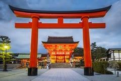 Fushimi Inari Taisha Royaltyfria Bilder