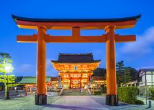 Fushimi Inari Taisha Arkivbild