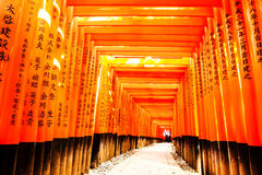 Fushimi Inari Taisha Image stock