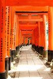 Fushimi Inari Taisha стоковое изображение rf