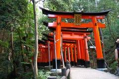 Fushimi Inari Taisha Imagenes de archivo
