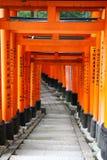 Fushimi Inari Taisha Imágenes de archivo libres de regalías