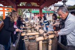 Fushimi Inari Taisha royaltyfria foton