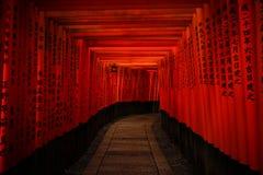 Fushimi Inari Taisha em Kyoto, Japão fotos de stock