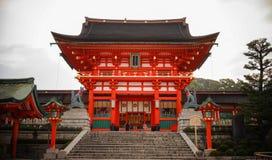Fushimi Inari Taisha em Kyoto, Japão fotografia de stock royalty free