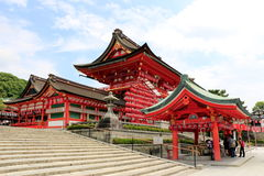 Fushimi Inari-Taisha entrance Royalty Free Stock Images