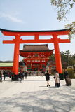 Fushimi Inari Taisha. Is the head shrine of Inari, located in Fushimi-ku, Kyoto, Japan. The shrine sits at the base of a mountain also named Inari which is 233 Royalty Free Stock Image