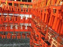 Fushimi-Inari Taisha, Kotyo, Japan Royaltyfri Bild