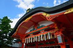 Fushimi Inari Taisha a Kyoto, Giappone Immagini Stock Libere da Diritti