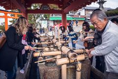 Fushimi Inari Taisha fotos de stock royalty free
