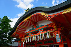 Fushimi Inari Taisha in Kyoto, Japan Royalty Free Stock Images