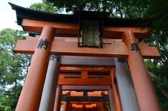 Fushimi Inari-taisha Kyoto Japonia Zdjęcia Royalty Free