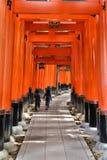 Japan - Fushimi Inari Arkivbilder