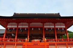 Fushimi Inari Taisha relikskrin i Kyoto, Japan Royaltyfri Bild