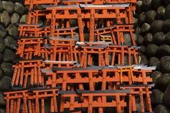 Fushimi Inari Taisha relikskrin, Kyoto, Japan Royaltyfri Bild