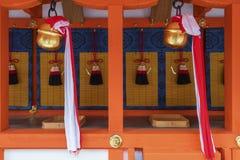 Fushimi Inari Taisha relikskrin, Kyoto, Japan Royaltyfri Foto