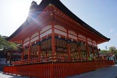 Fushimi-inari Taisha-Schrein stockfoto