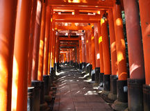 Fushimi Inari Taisha Schrein in Kyoto, Japan Stockfotos