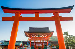 Fushimi Inari Taisha Shrine  Japan Royalty Free Stock Photos
