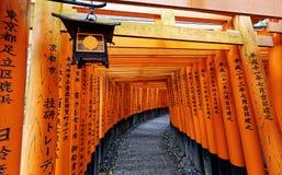Fushimi Inari Taisha Shrine Stock Photo