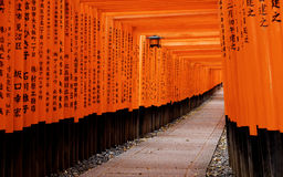 Fushimi Inari Taisha Shrine in Kyoto City, Japan Stock Photo