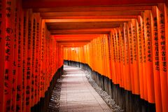 Fushimi Inari Taisha Shrine in Kyoto, Japan Royalty Free Stock Images