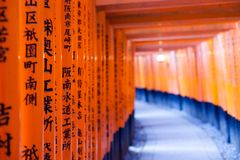 Fushimi Inari Taisha Shrine in Kyoto, Japan Stock Photography