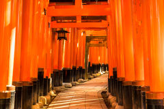 Fushimi Inari Taisha Shrine in Kyoto, Royalty Free Stock Photo