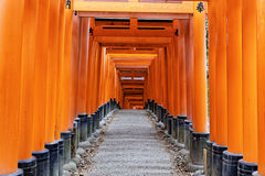 Fushimi Inari Taisha Shrine in Kyoto Stock Photos