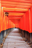 Fushimi Inari Taisha Shrine in Kyoto Royalty Free Stock Photography