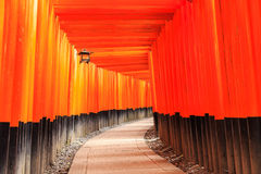 Fushimi Inari Taisha Shrine in Kyoto Stock Photos