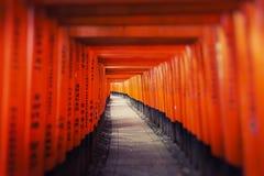 Fushimi Inari Taisha Shrine in Kyoto, Japan Royalty Free Stock Photos