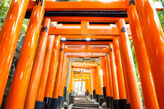 Fushimi Inari Taisha Shrine - Kyoto Stock Photo