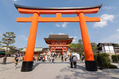 Fushimi Inari Taisha Shrine Stock Photography