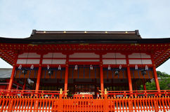 Fushimi Inari taisha shrine in Kyoto, Japan Royalty Free Stock Image