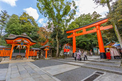 Fushimi Inari-taisha shrine in Kyoto Royalty Free Stock Image