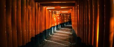 Fushimi Inari Taisha Shrine in Kyoto Royalty Free Stock Photos