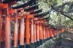 Fushimi Inari Taisha Shrine in Kyoto Japan Royalty Free Stock Photography