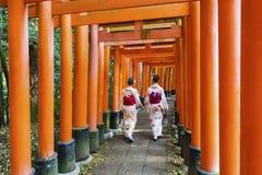 Fushimi Inari Taisha Shrine, Kyoto, Japan Royalty Free Stock Photo