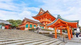 Fushimi Inari-taisha shrine in Kyoto Stock Image