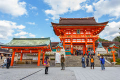 Fushimi Inari-taisha shrine in Kyoto Stock Images