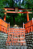 Fushimi Inari Taisha w Kyoto, Japonia Zdjęcia Stock