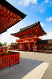 The fushimi inari temple Royalty Free Stock Photos