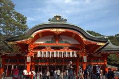 Fushimi Inari Temple, Kyoto, Japan Royalty Free Stock Images