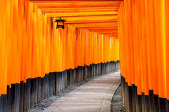Fushimi Inari Temple in Kyoto, Japan Stock Image