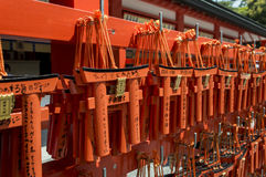 Fushimi Inari torii 免版税库存图片