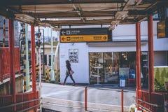 Fushimi Inari train station Royalty Free Stock Photos