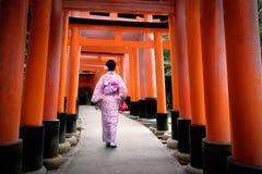 Fushimi-inari Stock Photos